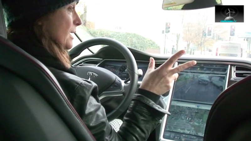 Tesla Test Drive.